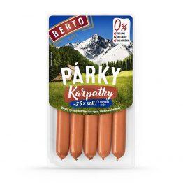BERTO - Slovensky rad - Parky - Etiketa - Vanicka 100 g - Karpatky 1